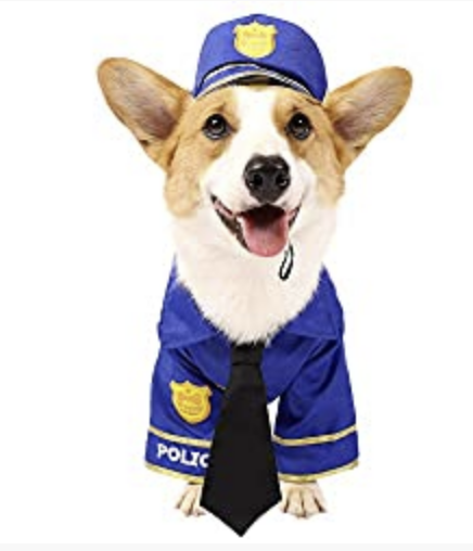 Spooktacular Creations Halloween Police Dog